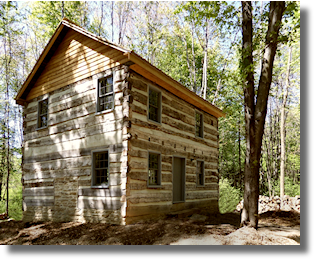 Symmes Log Cabin
